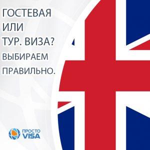 выбрать правильный тип визы в Англию
