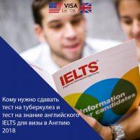 Тест на знание английского для визы в Англию